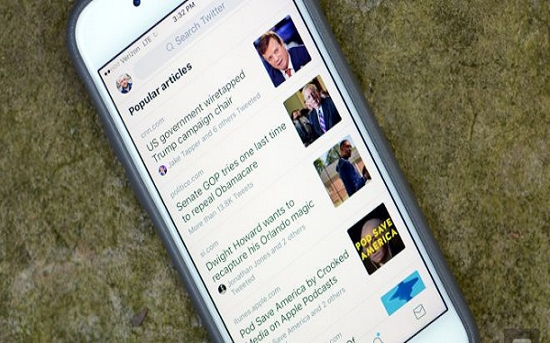 تويتر تعرض الان تبويب للمقالات الشهيرة