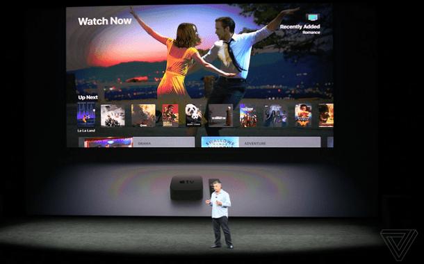 مؤتمر أبل: الكشف عن التلفاز الجديد Apple TV 4K