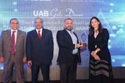 إتحاد المصارف العربية يمنح شركة ميناآيتك جائزة