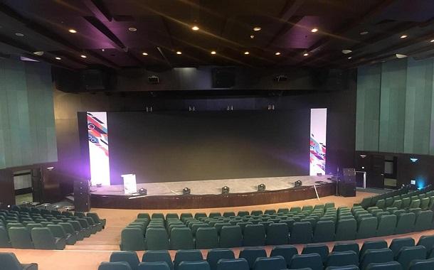 مسرح مجمع الأعمال يفتح ذراعيه لإحتضان القمة السابعة للألعاب الإلكترونية ..... يتوقع حضور 700 مشاركاً