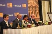 ''Ryanair'' تدخل السوق الأردني وتسير 582 رحلة