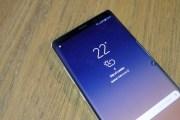 هواتف جالكسي نوت 9 وهواوي ميت 11 قد تدعم قارئ البصمة بالشاشة