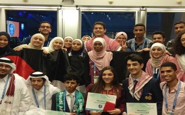 طلاب اردنيون يتفوقون في مسابقة إنتل العالمية للعلوم والهندسة - صور