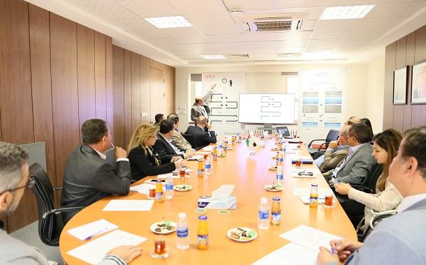جامعة الحسين التقنية تلتقي اعضاء في مجلس نقابة المهندسين