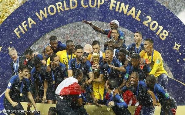 كيف احتفل الفرنسيون بفوزهم بمونديال روسيا 2018؟ صور