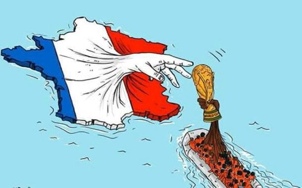 كاريكاتير أردني يجتاح المواقع العالمية ويحاكي قضية المهجرين