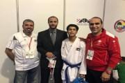 عبدالله حماد يحقق انجازاً تاريخياً في رياضة الكراتيه بتأهله إلى أولمبياد الشباب