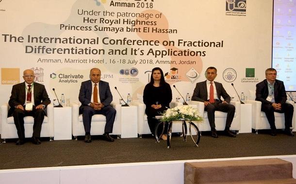 Orange الأردن ترعى المؤتمر العالمي للتفاضل الكسري وتطبيقاته 2018