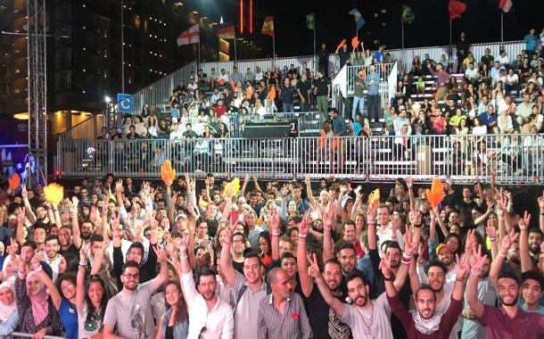 اورانج الأردن تدعم حفل فرقة