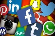 تطبيقات وسائل التواصل الاجتماعي تعمل