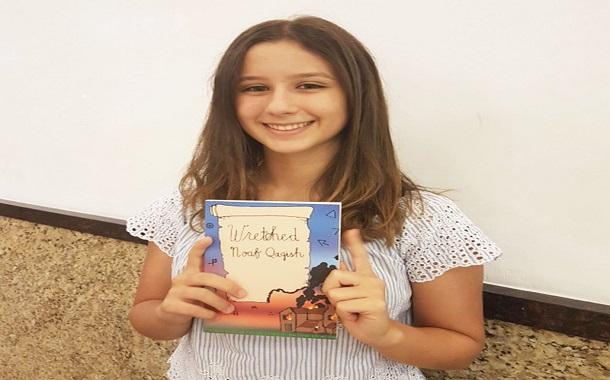 نوف قاقيش...... طفلة تحجز مكانتها بين مبدعي الأدب