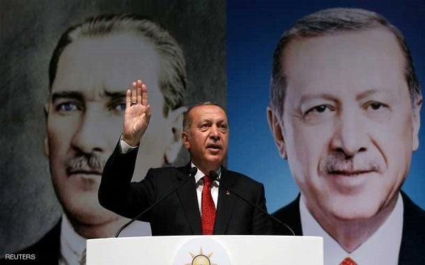 أردوغان ينفي