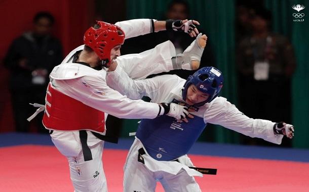 حمزة قطان يضيف الميدالية الثانية للأردن في دورة الألعاب الآسيوية (إندونيسيا ٢٠١٨)