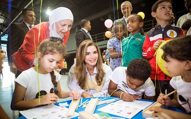 اطلاق مهرجان تفاعلي للحد من العنف ضد الأطفال.... بحضور جلالة الملكة رانيا العبدالله