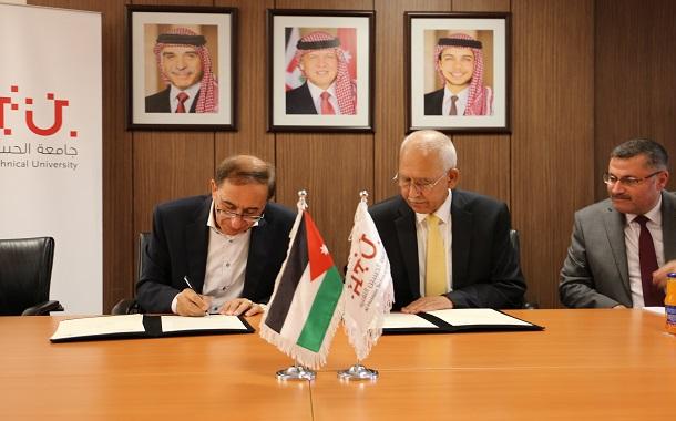 اتفاقية تعاون بين جامعة الحسين التقنية ونقابة المهندسين الأردنيين