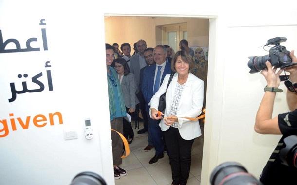 نائب رئيس مؤسسة Orange  تؤكد اهمية دعم مشاريع التنمية الاجتماعية