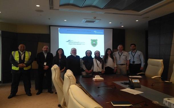 مجموعة المطار الدولي تحتضن المرحلة الثانية من مشاريع التخرج الجامعية