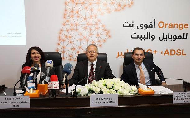 اورانج تطور شبكتها في محافظة البلقاء لتوفير خدماتها و عروضها بجودة عالية
