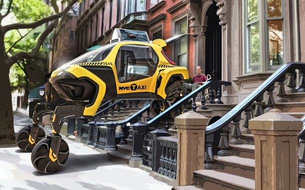 هيونداي تكشف عن مشروع Elevate الخاص بسيارتها القادرة على المشي