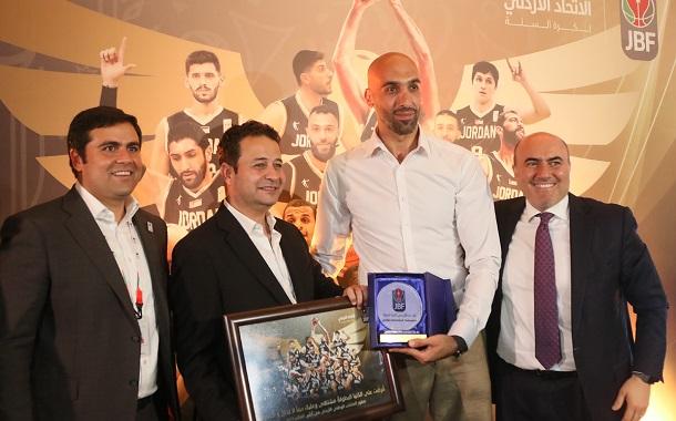 تكريم منتخب السلة المتأهل لكأس العالم