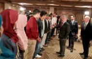 الملك لاوائل الثانوية العامة ... بهمتكم وعزيمتكم الأردن مستمر في مسيرة التقدم والنهوض