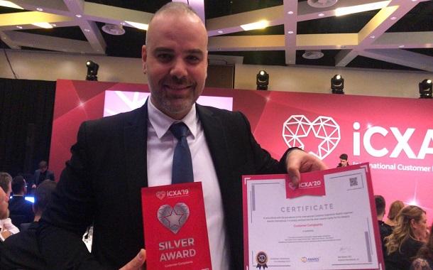 أمنية تنال فضية جائزة تجربة العملاء الدولية عن فئة شكاوى العملاء