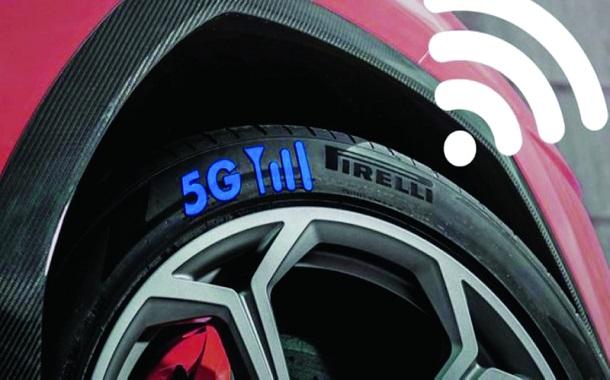 بيريللي تطوّر إطار سيارة يتفاعل مع شبكة الجيل الخامس