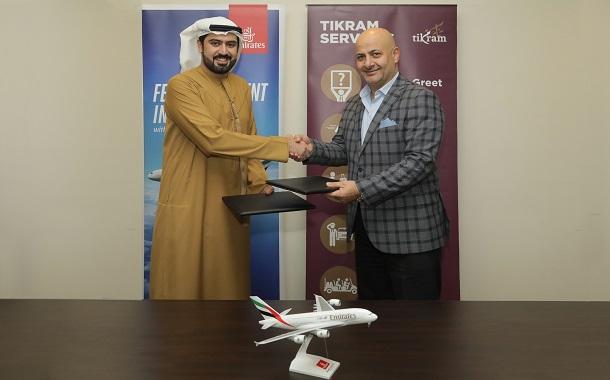 طيران الإمارات تقدم خدمة