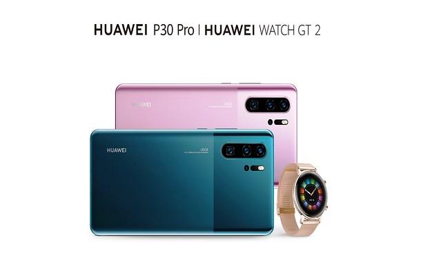 هاتف Huawei P30 Pro بألوانه الجديدة وساعةWATCH GT 2 Huawei أخيراً في السوق الأردنية..... يوم 16 كانون الأول
