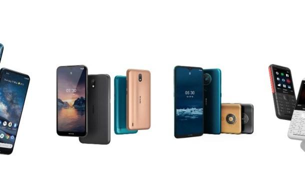 هاتف ذكى بتكنولوجيا الجيل الخامس يتصدر اصدارات نوكيا