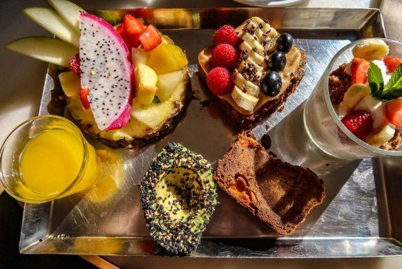 Brunch & Cake by the Sea breakfast platter