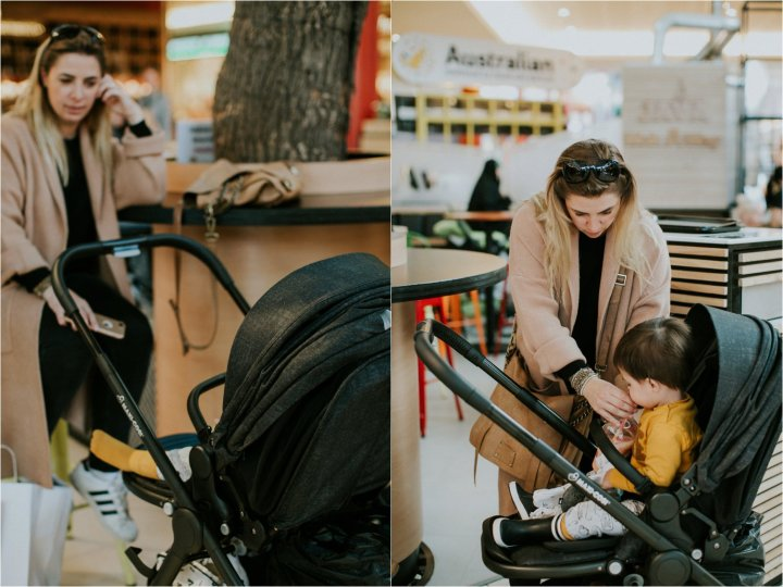 Twonager on the go: Maxi Cosi Adorra