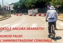 porto chiuso ciclisti