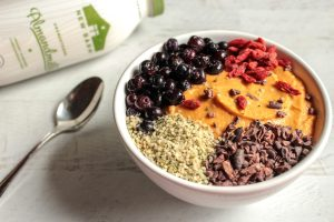 5-Ingredient Sweet Potato Breakfast Bowl