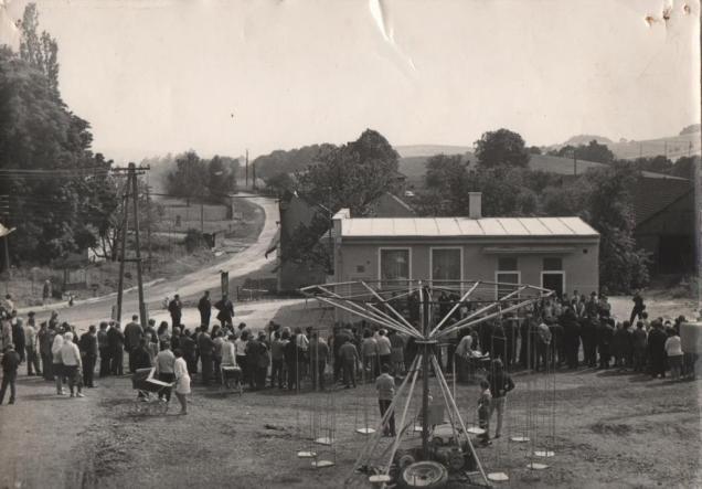 Vystavba hasicarny 1973-1974