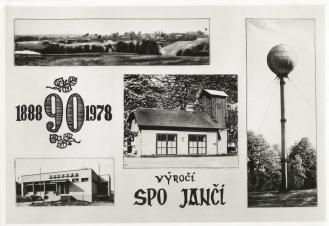 Pohlednice - SDH Jančí