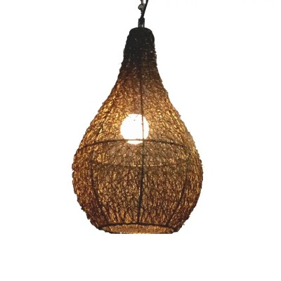 Hanging Jali Lamp (2)