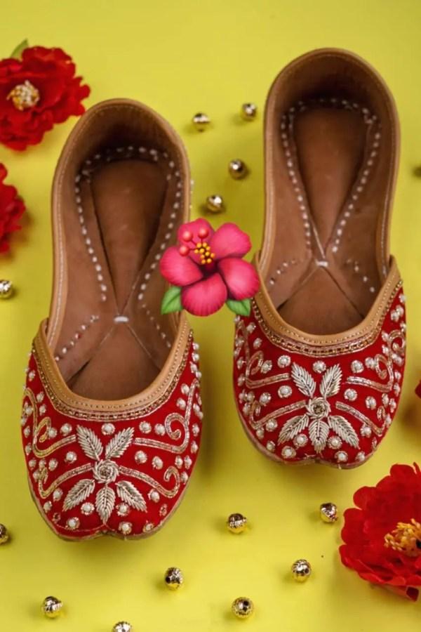Beautiful Handmade Jutti
