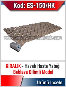 Kiralık baklava dilimli havalı yatak