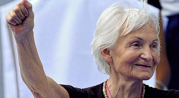 Margot Honecker, born in 1927, former minister of education of the German Democratic Republic and widow of longtime Socialist Unity Party (SED) Secretary General and GDR State Chairperson Erich Honecker (1912-1994)