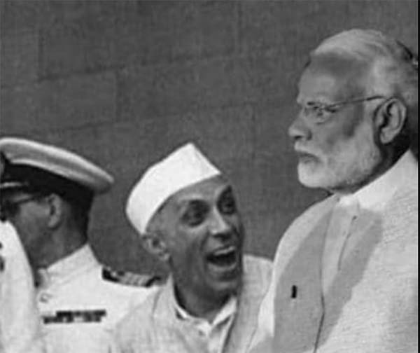 How much of Nehru troubled Modi