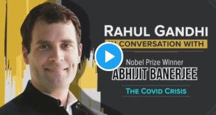 A conversation with Nobel Laureate, Abhijit Banerjee on the economic impact of the COVID19 crisis.