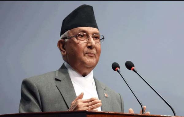 Khadga Prasad Sharma Oli, more commonly known as KP Sharma Oli, is a Nepalese politician and the current Prime Minister of Nepal. Oli previously served as prime minister from 11 October 2015 to 3 August 2016 and was the first elected prime minister under the newly adopted Constitution of Nepal.
