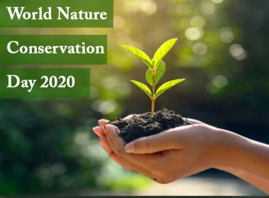 World Nature Conservation Day in Hindi