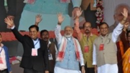 Between protest Modi assures Citizenship Bill will not harm Assam and Northeast