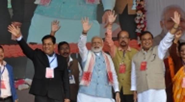 Between protest Modi assures Citizenship Bill will not harm Assam and Northeast