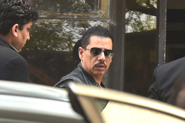 obert Vadra appears before ED