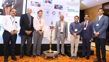 At the inauguration of the 12th SISA 2019 advanced Hip Preservation Course, hosted by SISA, Hyderabad, on Sunday.