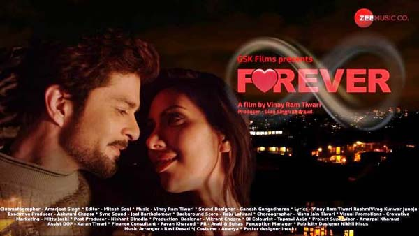 """Director Vinay Ram Tiwari's romantic thriller """"FOREVER"""" set to release on Amazon this May."""