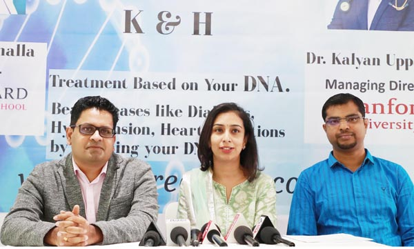 The state-of-the-art K & H Clinic, brings personalised medicine, the future of healthcare, to India for the first time